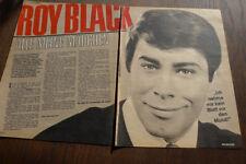 ROY BLACK...BRAVO ...3 BLATT 1966...
