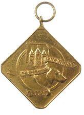 Dog award Netherlands TILBURG KENNEL CLUB brass 42mm x 42mm