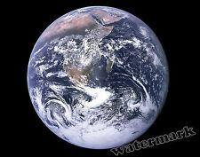 Photograph - NASA Space Image Mother Earth 11x14