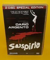 SUSPIRIA 2 DISC HORROR DVD Set Lot  - OOP HTF CULT Blue Underground GORE RARE!