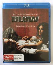 Blow (Blu-Ray) VGC Rated MA15+ Movie 🍿 Johnny Depp Penelope Cruz Region B