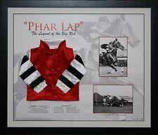 Phar Lap Limited Edition Mini Silks Framed.