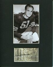 Ken Kavanaugh LSU Tigers Chicago Bears HOF Rare Signed Autograph Photo Display