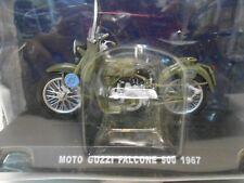 MOTO GUZZI FALCONE 500 POLICIA ESTADO STRADALE MOTO BIKE 1967 1/24 DeAGOSTINI