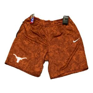 NWT NEW Texas Longhorns Nike Men's Dri Fit Shorts 3XL