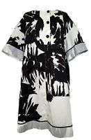 DRIES VAN NOTEN PRINTED COTTON OVERSIZED DRESS, 36, $1150