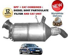 Para BMW 118d 120d E87 2003-2012 DPF + Gato de hollín diésel filtro de partículas
