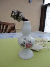 petit pied d'abat jour en porcelaine