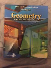 Glencoe-McGraw-HillIs Geometry Concepts And Applications Teacher Bundle