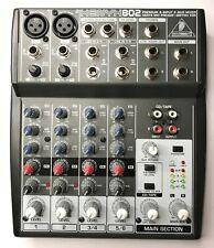 BEHRINGER 802 XENYX Preamp Mezclador 8 Canales