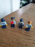 Lego City Police Minifigure Bundle