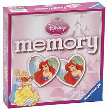 RAVENSBURGER DISNEY PRINCESS MEMORY GAME (HEART SHAPED CARDS)