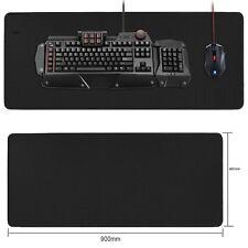 900x400mm XXL Large Noir antidérapant Gaming Tapis de Souris Tapis spécial-Surface Texturée