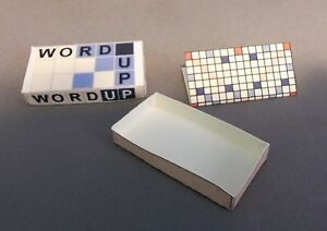 Dollhouse Miniature 1:12 Scale Word Up Game