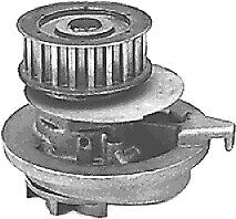 Protex Water Pump PWP9076 fits Holden Camira 2.0 i (JE)