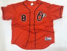 Cal Ripken Jr #8 Baltimore Orioles Majestic Team MLB Jersey Men XL Made in USA