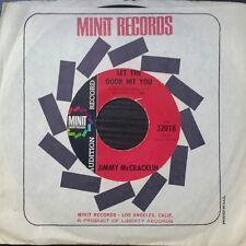 JIMMY MCCRACKLIN Don't Let The Door Hit You Vinyl Single Record 1967 US Press