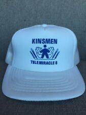 Vtg Kinsmen Telemiracle 1984 Mesh Snap Back Hat 80's Canada Saskatchewan SK