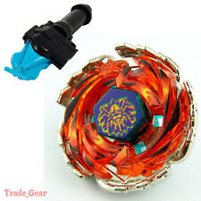 BB-94 TORNADO HERCULEO BEYBLADE Masters Fusion Metal+GRIP+BLUE SPIN LAUNCHER NEW
