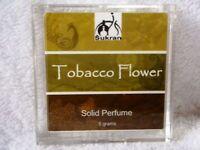 TOBACCO FLOWER Solid Perfume Oil by Sukran ~5ml~