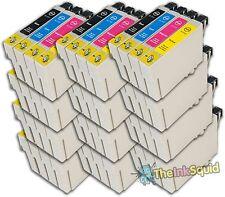 48 T0711-4/T0715 non-oem Cheetah Ink Cartridges fit Epson Stylus SX510W & SX515W