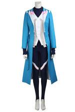 Pocket Monster Pokemon Go Team Mystic Blanche Uniform Cosplay Costume Halloween