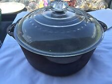 Griswold Tite Top Dutch Oven # 1278 Erie PA USA Patent 1333917 Glass Lid