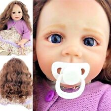 Cute Reborn Baby Girl Toddler Doll Handmade Lifelike Real Toy Gift Silicone Aliv