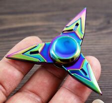 Overwatch Tri-Spinner Toy Fidget Metal EDC Hand Finger Spinner Desk Focus Toy N9