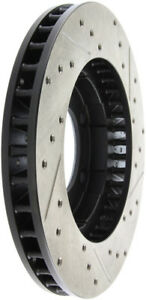 StopTech Slotted & Drilled Sport Brake Rotor - st127.68000R