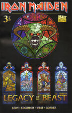 IRON MAIDEN  Legacy of the Beast #3  Comic