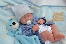 PJs PRECIOUS ❤ BERENGUER LA NEWBORN REALISTIC BABY BOY DOLL FOR REBORN /PLAY