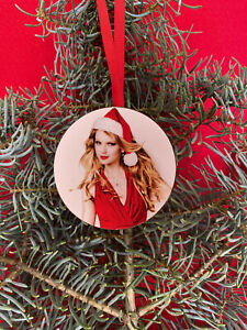 TAYLOR SWIFT Christmas Tree Ornament Ugly Holiday Party Gift Exchange