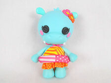 "Lalaloospy Pet Pals TOOTHY YAWNS A LOT Hippo 7"" Figure Doll COMPLETE Swimsuit"