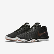 WOMEN'S NIKE FREE TR 6 SHOES SIZE 10.5 black red bronze 833413 005