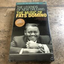 The Legends of New Orleans: The Music of Fats Domino VHS 2001 New Sealed