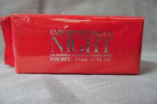 EMPORIO NIGHT GIORGIO ARMANI 1.7 OZ / 50 ML EAU DE PARFUM SPRAY WOMEN FRAGRANCE