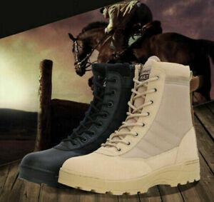 Herren Kampfschuhe Military Tactical Desert Ankle Boots Booties Stiefel CombatDE