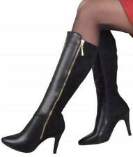 Women's ladies high heel knee high boots shoes winter shoes sizes 3-8