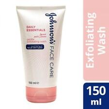 ** 2 X JOHNSONS FACE CARE DAILY ESSENTIALS GENTLE EXFOLIATING WASH 150ml EACH