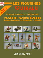 """ LES FIGURINES QUIRALU "" TOME 1 -DOS CARRE- petit format  17 x 24"