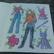 Vtg Barbie Goin' Camping Paper Dolls Uncut 1974 Pj and Barbie