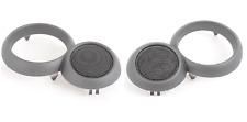 New Genuine MINI R52 Set Of Front Left And Right Door Opener Speaker Grills OEM