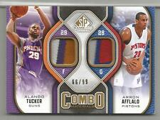 2009-10 SP Game Used Basketball Tucker-Afflalo Dual Patch Card # 66/99