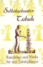 Tabak selbst anbauen & eigene Zigarren machen Anleitung Anbau Tabakanbau Samen