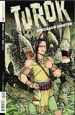 TUROK DINOSAUR HUNTER #4 Retailer Incentive Variant Cover DYNAMITE & GOLD KEY NM