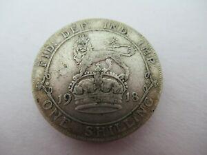 1918 shilling High Grade Collectable Condition Coin Silver