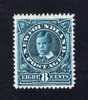 Newfoundland 1911 Sc #110 8c BLUE Prince of Wales Mint F-VF H