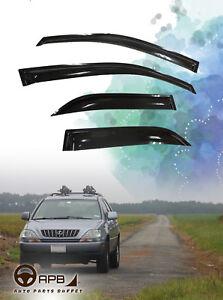 For LEXUS RX300 99-03 Deflector Window Visors Guard Vent Weather Shield
