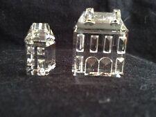 SWAROVSKI Crystal. CASE III e IV (CITY HOUSES)  Fuori Produzione . RARO
